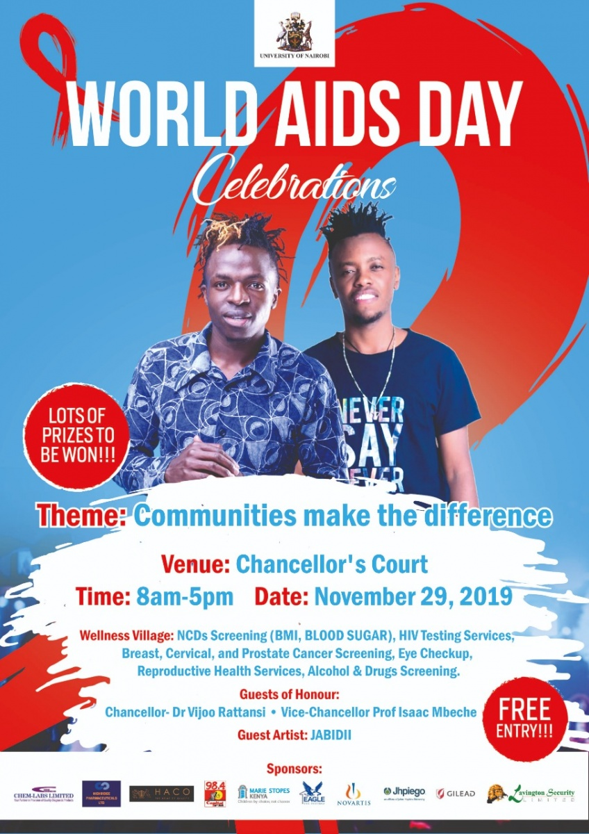 WORLD AIDS DAY CELEBRATION