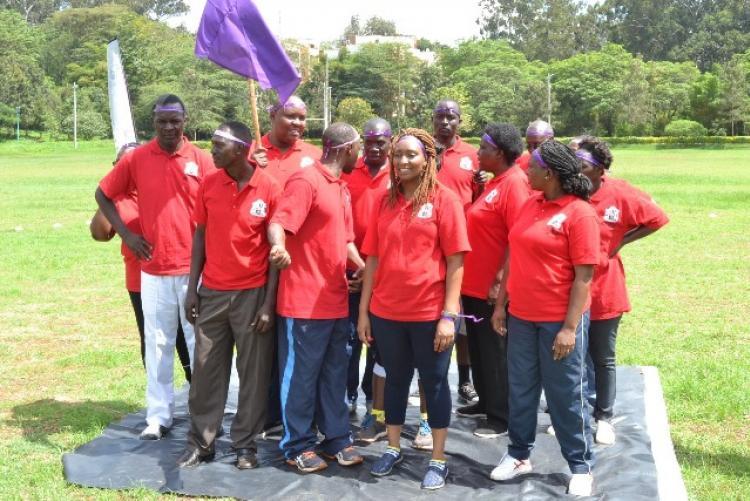 purple team led by Sec. Margaret