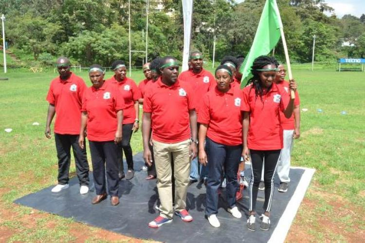 Green Team led By The CMO Dr. Asimba